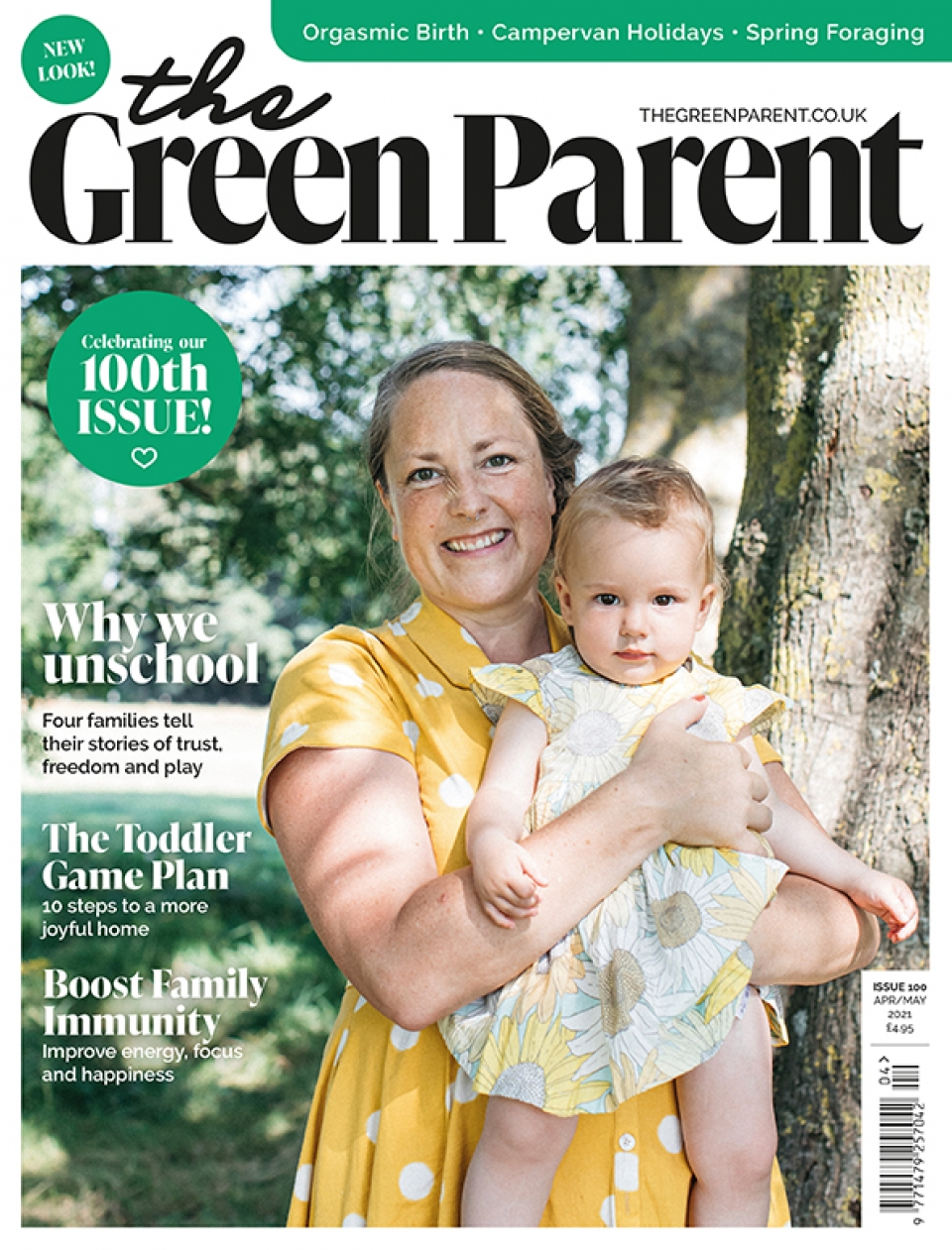 The Green Parent Issue 100 Cover