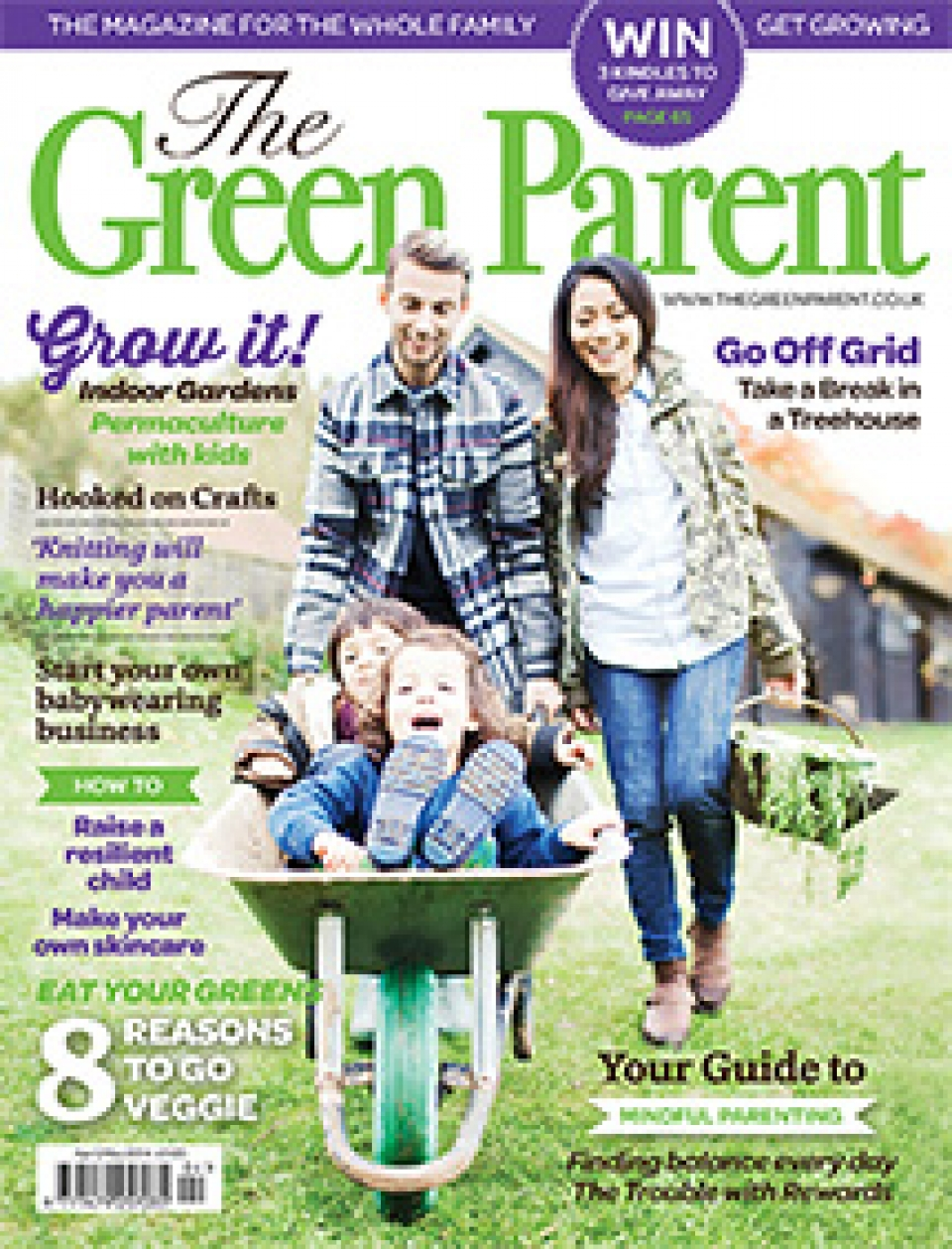 The Green Parent Issue 58 Cover