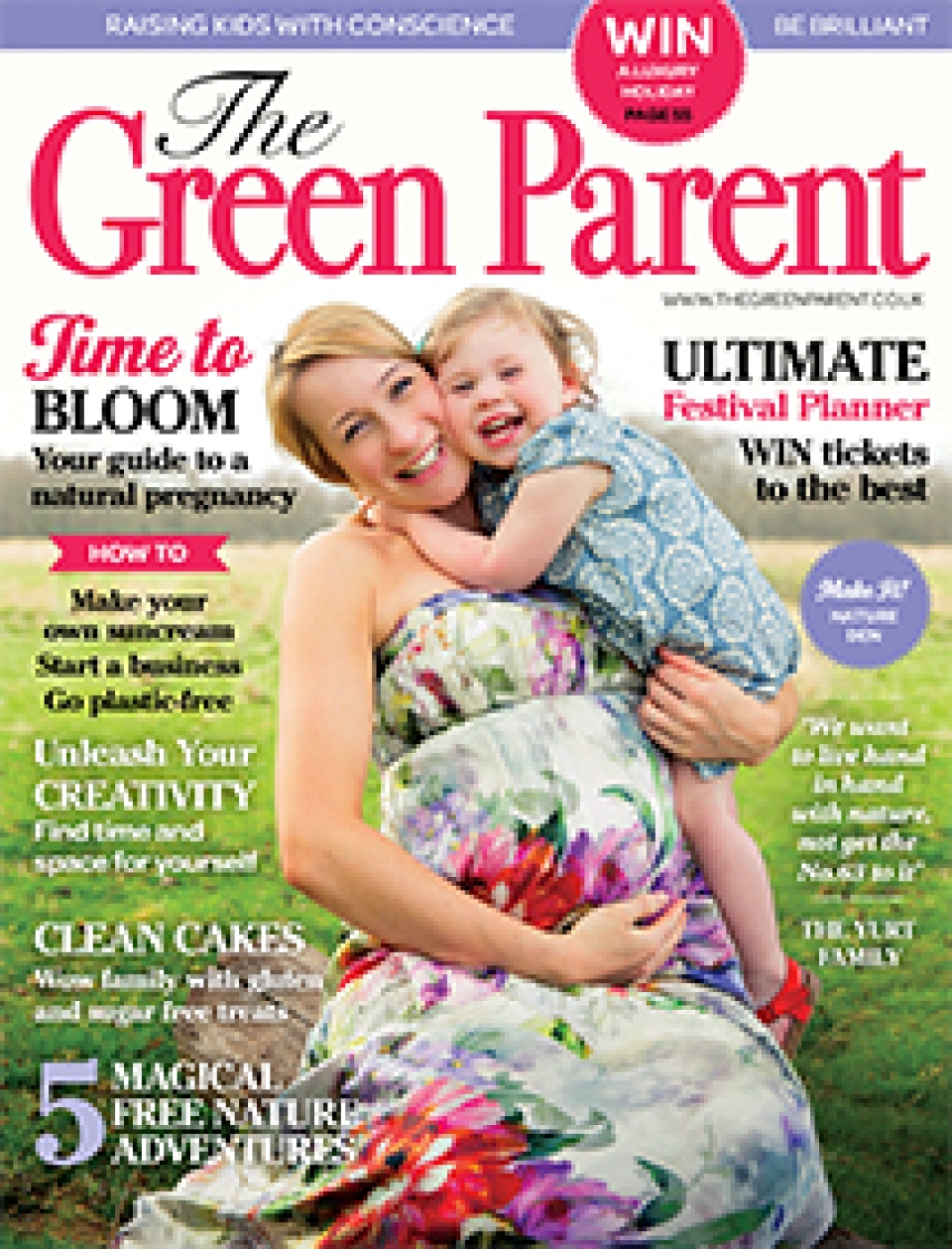 The Green Parent Issue 71 Cover