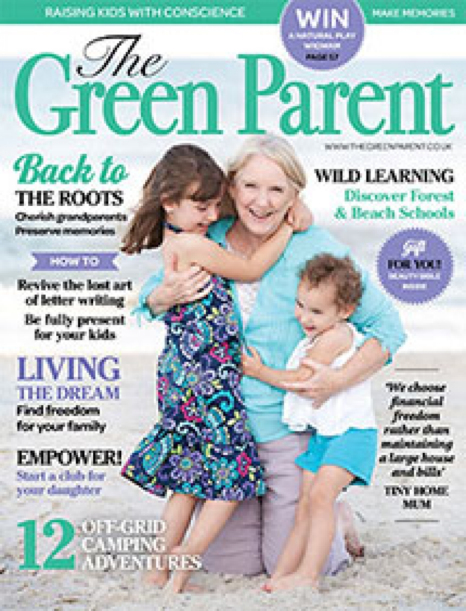 The Green Parent Issue 72 Cover