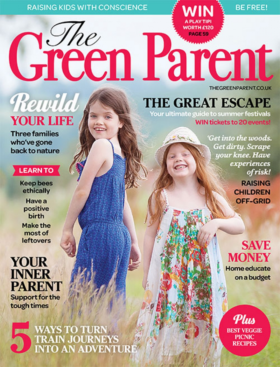 The Green Parent Issue 77 Cover