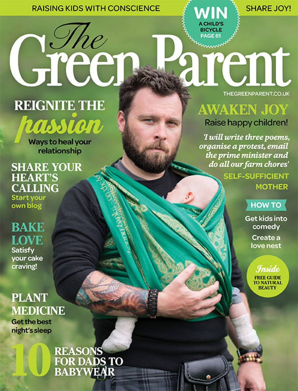 The Green Parent Issue 78 Cover