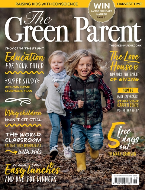 The Green Parent Issue 85 Cover
