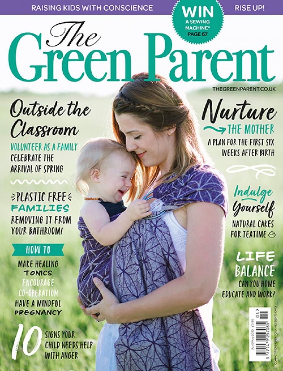The Green Parent Issue 89 Cover