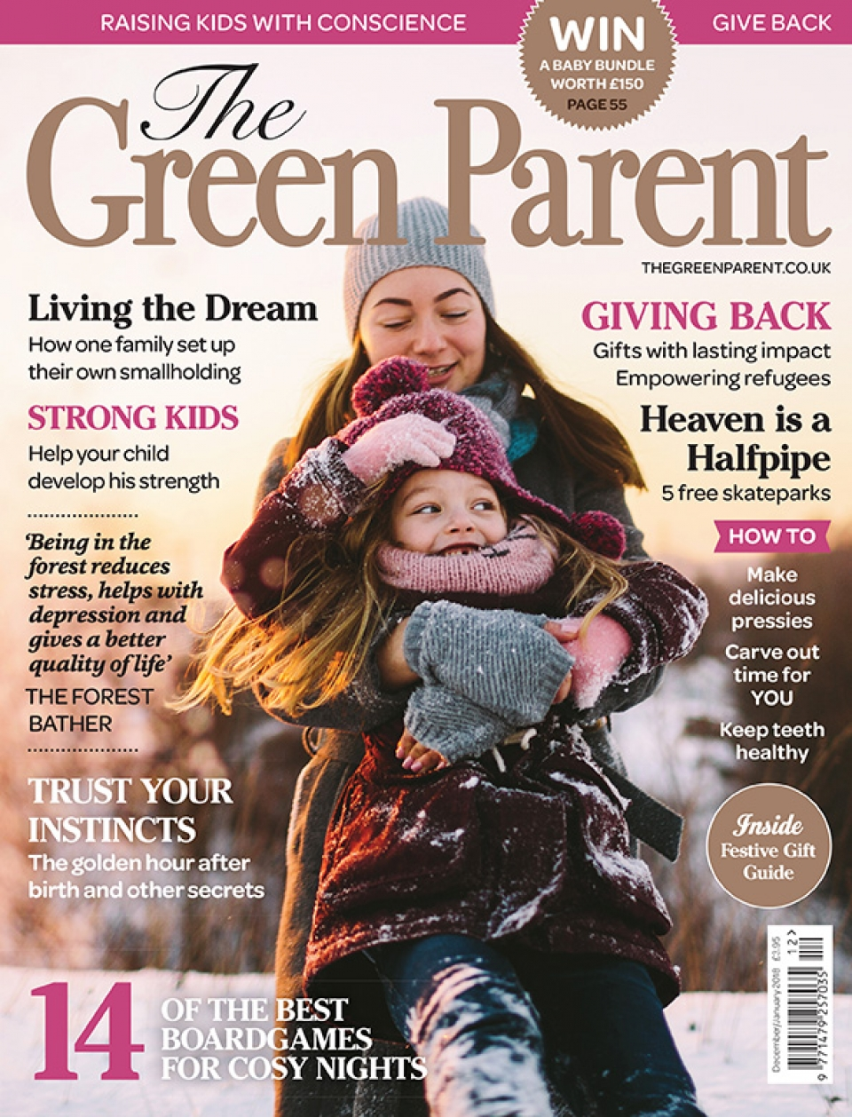 The Green Parent Issue 80 Cover