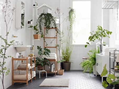 When cleaning your bathroom choose items closest to nature  Lemon juice and  vinegar can be put to good use around the bathroom. 12 Steps to an Eco Bathroom   A Higher Plan